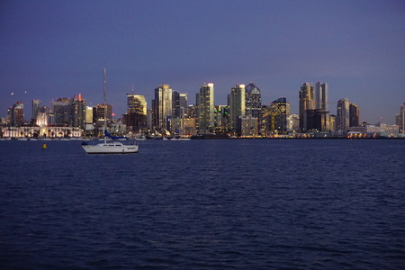 view of San Diego from our Anchorage